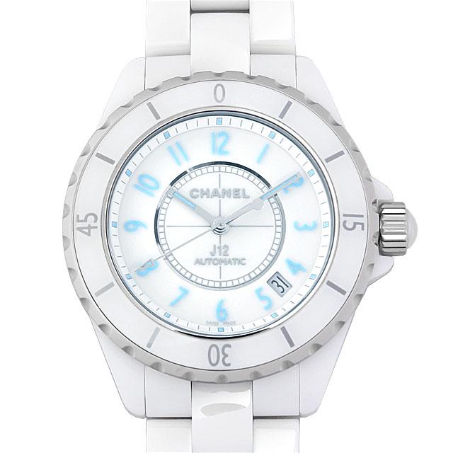 【48回払いまで無金利】シャネル J12 ホワイト ブルーライト 限定2000本 H3827 メンズ(0671CHAN0030)【新品】【腕時計】【送料無料】