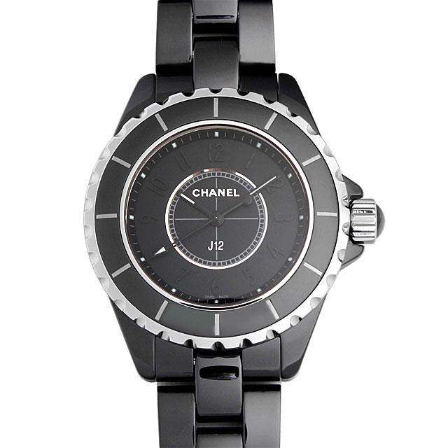 【48回払いまで無金利】シャネル J12 インテンスブラック H3828 レディース(0671CHAN0129)【新品】【腕時計】【送料無料】