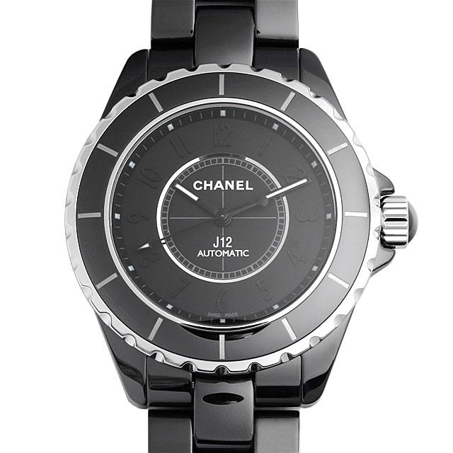 【48回払いまで無金利】シャネル J12 インテンスブラック ワンショット限定 H3829 メンズ(0671CHAN0070)【新品】【腕時計】【送料無料】
