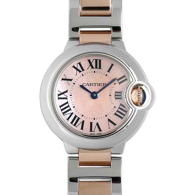 【48回払いまで無金利】カルティエ バロンブルー W2BB0009 レディース(0066CAAN0766)【新品】【腕時計】【送料無料】