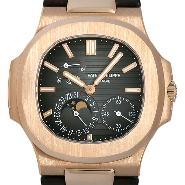【48回払いまで無金利】パテックフィリップ ノーチラス プチコンプリケーション 5712R-001 メンズ(0042PPAU0001)【中古】【腕時計】【送料無料】