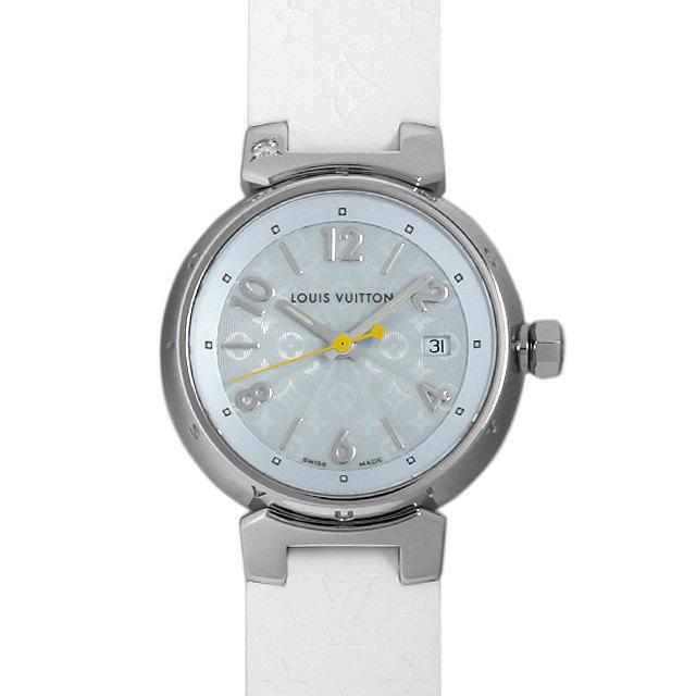 【48回払いまで無金利】ルイヴィトン タンブール Q121V レディース(008KLVAU0002)【中古】【腕時計】【送料無料】