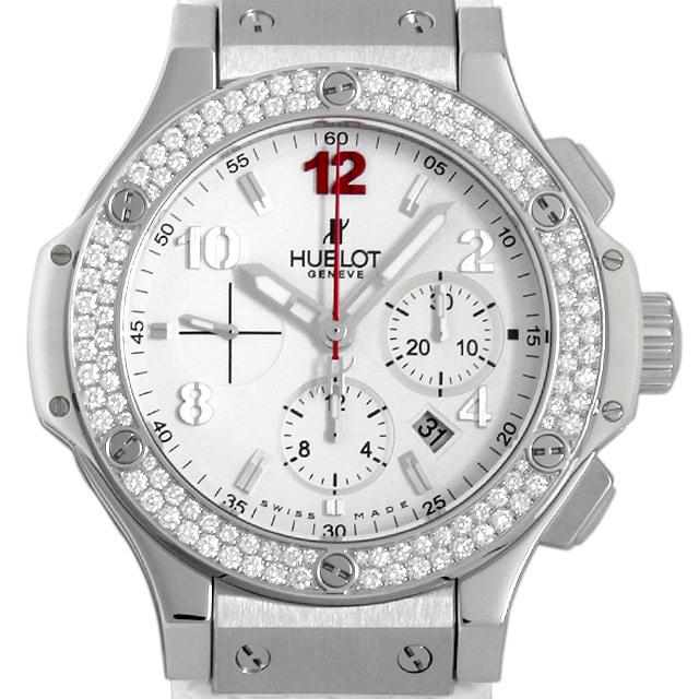 【48回払いまで無金利】ウブロ ビッグバン オールホワイト ダイヤモンド 301.SE.230.RW.114 メンズ(008WHBAU0030)【中古】【腕時計】【送料無料】