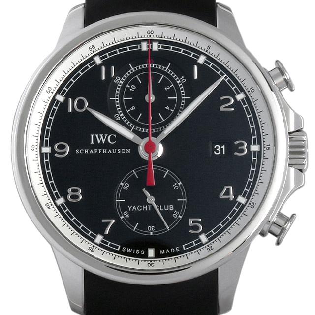 IWC ポルトギーゼ ヨットクラブ クロノグラフ IW390204 メンズ(008WIWAU0047)【中古】【腕時計】【送料無料】