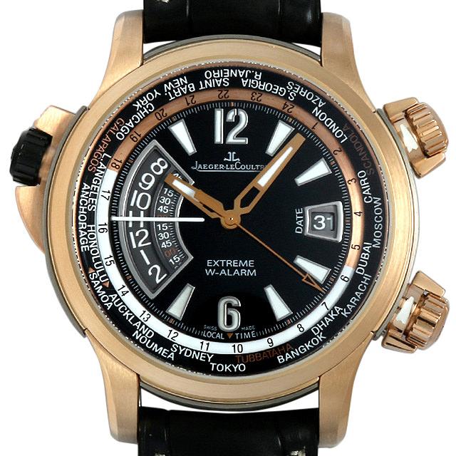 ジャガールクルト マスターコンプレッサー エクストリーム ワールドアラーム Q1772470(150.2.42) メンズ(07OQJLAU0001)【中古】【腕時計】【送料無料】