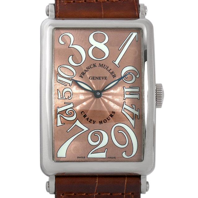【48回払いまで無金利】SALE フランクミュラー ロングアイランド クレイジーアワーズ 1200CH OG メンズ(08ZVFRAU0001)【中古】【腕時計】【送料無料】