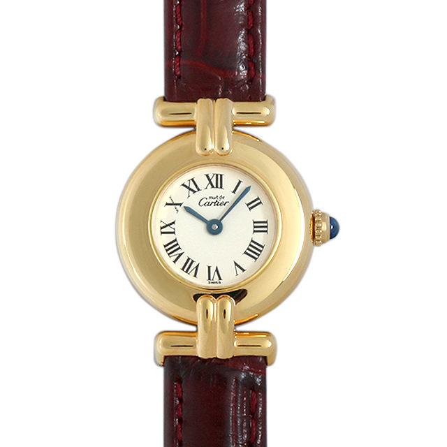 【48回払いまで無金利】カルティエ マストコリゼ レディース(098KCAAU0001)【中古】【腕時計】【送料無料】