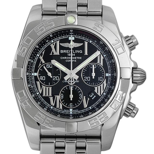 【48回払いまで無金利】ブライトリング クロノマット44 A011B56PA(AB0110) メンズ(09AWBRAU0001)【中古】【腕時計】【送料無料】