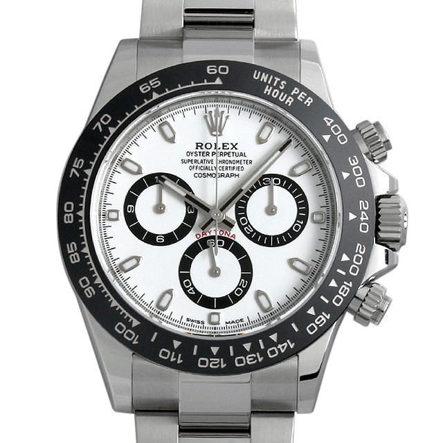 【48回払いまで無金利】ロレックス コスモグラフ デイトナ 116500LN ホワイト メンズ(0JDEROAN0002)【新品】【腕時計】【送料無料】