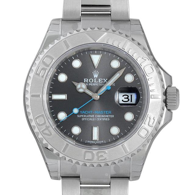 【48回払いまで無金利】ロレックス ヨットマスター ロレジウム 116622 ダークロジウム メンズ(0CCTROAN0102)【新品】【腕時計】【送料無料】
