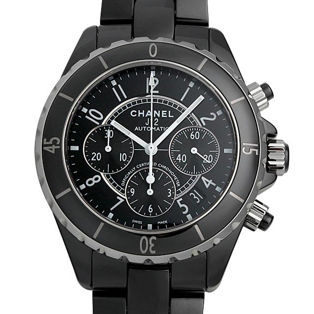 【48回払いまで無金利】シャネル J12 クロノグラフ 黒セラミック H0940 メンズ(0671CHAN0341)【新品】【腕時計】【送料無料】
