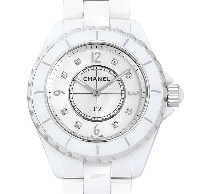 【48回払いまで無金利】シャネル J12 8Pダイヤ H3214 メンズ(0671CHAN0343)【新品】【腕時計】【送料無料】