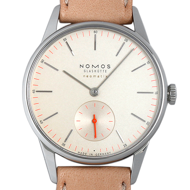 【48回払いまで無金利】ノモス オリオン ネオマティック シャンペイナー OR130013CH2(393) メンズ(002GNOAR0035)【新品】【腕時計】【送料無料】