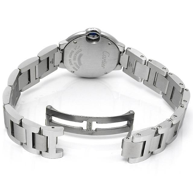 【48回払いまで無金利】カルティエ バロンブルー SM 11Pダイヤ WE902073 レディース(002NCAAN0009)【新品】【腕時計】
