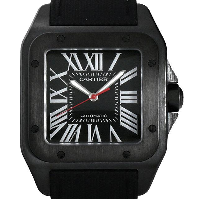 【48回払いまで無金利】カルティエ サントス 100 カーボンウォッチ WSSA0006 メンズ(002NCAAN0003)【新品】【腕時計】【送料無料】