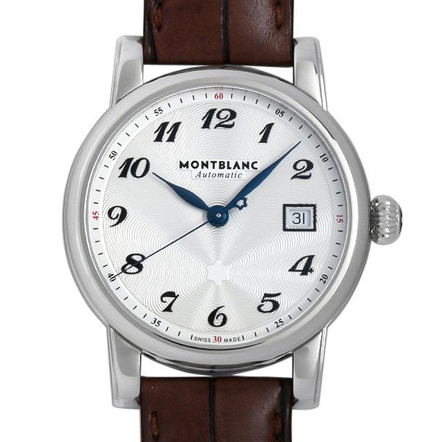 モンブラン スターデイト オートマティック 107315 メンズ(006TMLAS0002)【中古】【未使用】【腕時計】【送料無料】