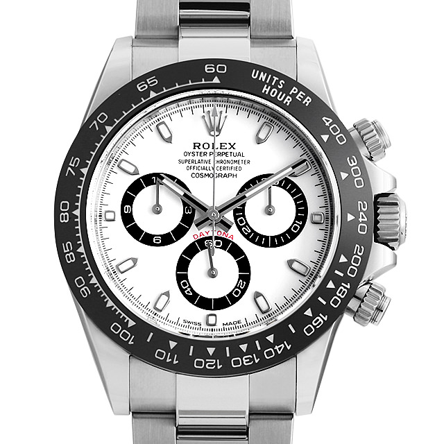 【48回払いまで無金利】ロレックス コスモグラフ デイトナ 116500LN ホワイト メンズ(0CHJROAS0001)【未使用】【腕時計】【送料無料】