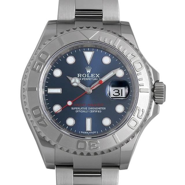 【48回払いまで無金利】ロレックス ヨットマスター ロレジウム ブルー 116622 メンズ(0JA9ROAS0001)【中古】【未使用】【腕時計】【送料無料】