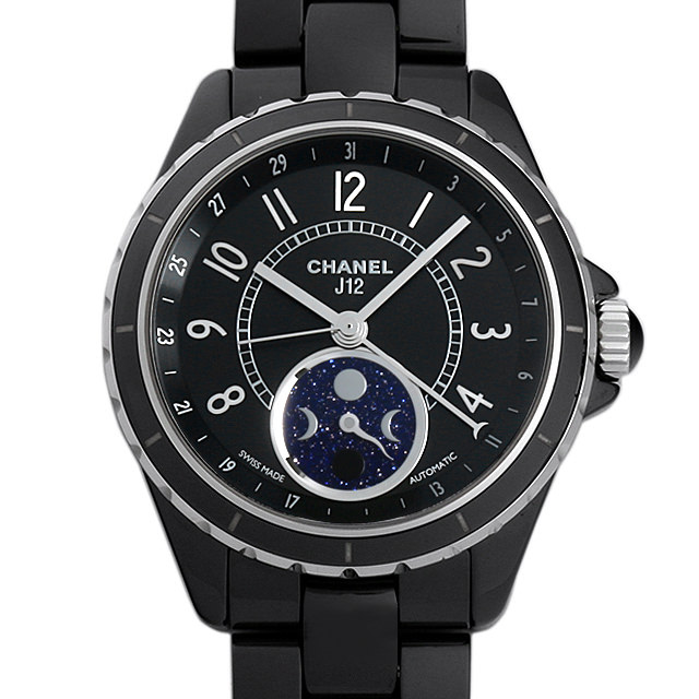 シャネル J12 ファーズ ドゥ リュヌ H3406 メンズ(003ICHAS0004)【未使用】【腕時計】【送料無料】