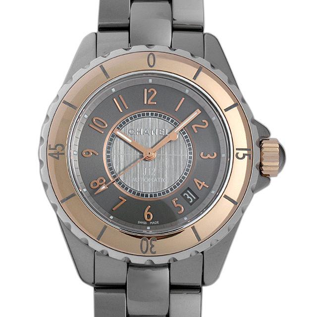 【48回払いまで無金利】SALE シャネル J12 クロマティック ベージュゴールド H4185 メンズ(003ICHAS0002)【中古】【未使用】【腕時計】【送料無料】
