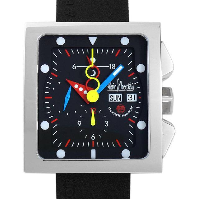 アランシルベスタイン ジャンボクロノ JK11 メンズ(003IAAAS0001)【中古】【未使用】【腕時計】【送料無料】