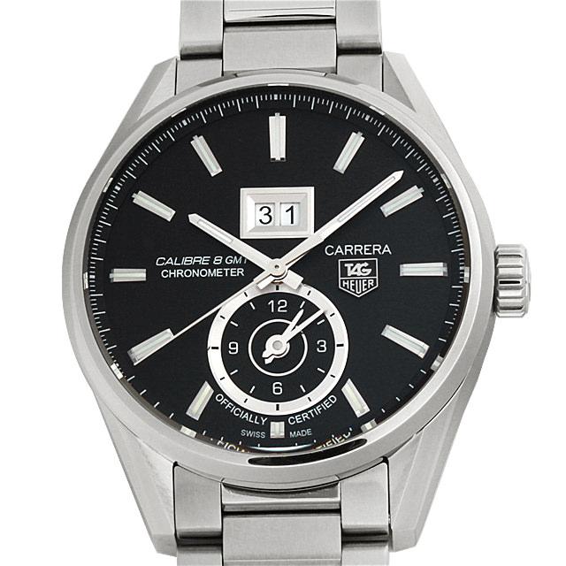 【48回払いまで無金利】SALE タグホイヤー カレラ グランドデイト GMT WAR5010.BA0723 メンズ(003ITHAS0002)【中古】【未使用】【腕時計】【送料無料】