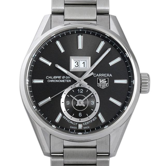 【48回払いまで無金利】SALE タグホイヤー カレラGMT グランドデイト WAR5012.BA0723 メンズ(003ITHAS0003)【中古】【未使用】【腕時計】【送料無料】