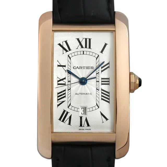 【48回払いまで無金利】SALE カルティエ タンクアメリカン XL W2609856 メンズ(001HCAAU0044)【中古】【腕時計】【送料無料】