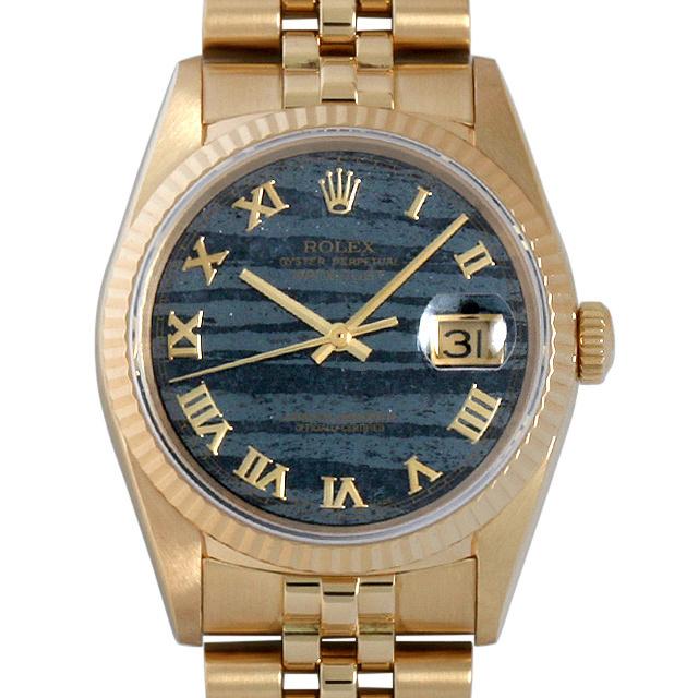 【48回払いまで無金利】SALE ロレックス デイトジャスト E番 16238 フェライトグレー メンズ(0063ROAU0118)【中古】【腕時計】【送料無料】