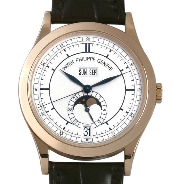 パテックフィリップ アニュアルカレンダー 5396R-001 メンズ(007UPPAU0054)【中古】【腕時計】【送料無料】