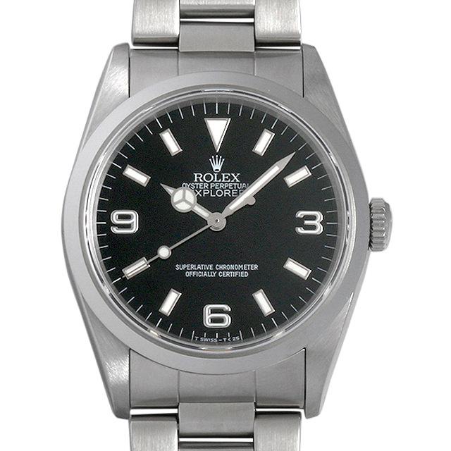 【48回払いまで無金利】ロレックス エクスプローラーI X番 14270 メンズ(007UROAU0147)【中古】【腕時計】【送料無料】