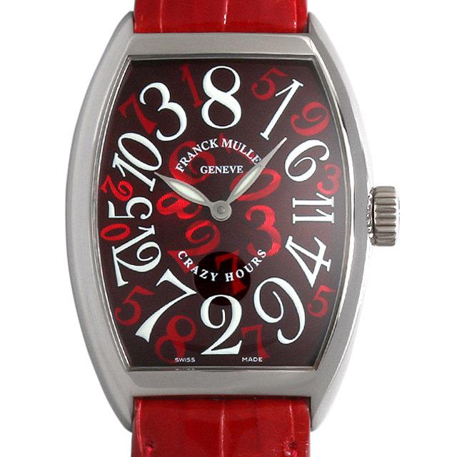 【48回払いまで無金利】フランクミュラー トノーカーベックス クレイジーアワーズ 7851CH OG メンズ(008WFRAU0066)【中古】【腕時計】【送料無料】