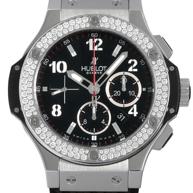 【48回払いまで無金利】ウブロ ビッグバン スティール ダイヤモンド 301.SX.130.RX.114 メンズ(03M6HBAU0001)【中古】【腕時計】【送料無料】