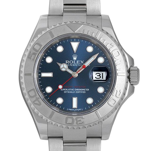 ロレックス ヨットマスター ロレジウム ブルー 116622 メンズ(046AROAU0001)【中古】【腕時計】【送料無料】