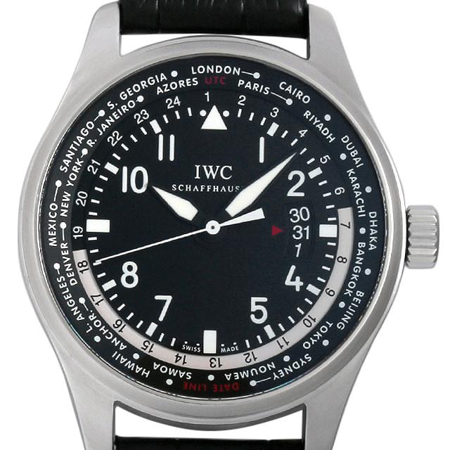 SALE IWC パイロットウォッチ ワールドタイマー IW326201 メンズ(05LFIWAU0002)【中古】【腕時計】【送料無料】