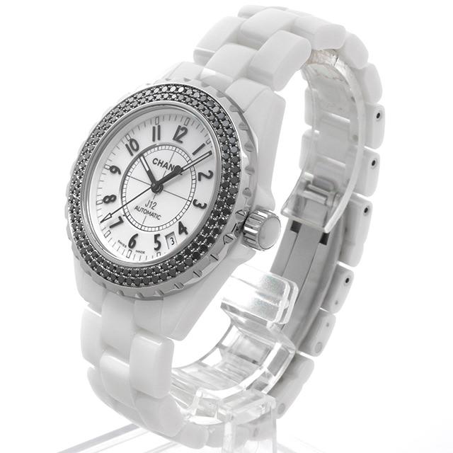 8d2a684f3ae0 【48回払いまで無金利】SALE シャネル J12 オートマティック ブラックダイヤベゼル H1631 メンズ (0A5QCHAU0002)【中古】【腕時計】【送料無料】-メンズ腕時計