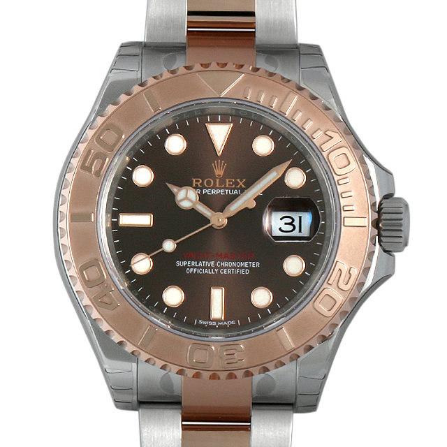 【48回払いまで無金利】ロレックス ヨットマスター40 チョコレートブラウン 116621 メンズ(0CHJROAN0023)【新品】【腕時計】【送料無料】