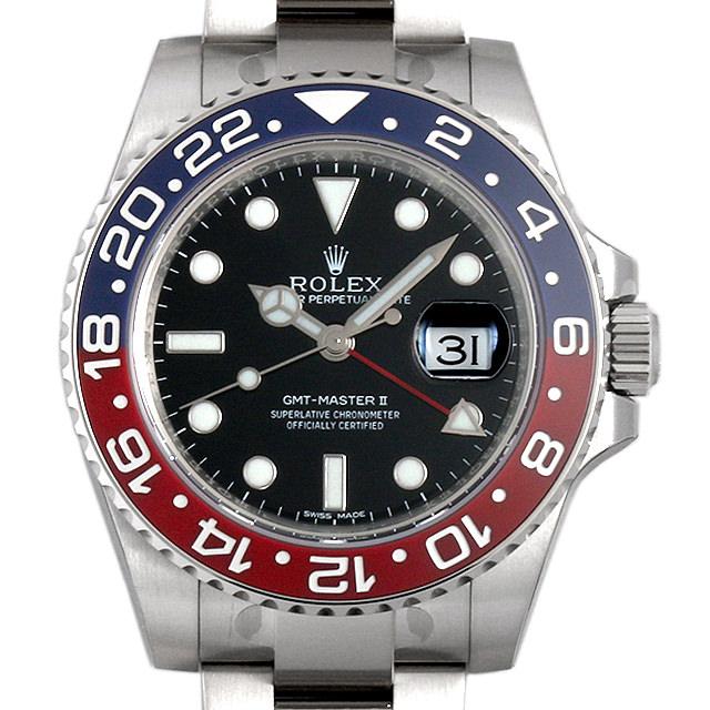 【48回払いまで無金利】ロレックス GMTマスターII 116719BLRO メンズ(009FROAR0007)【新品】【腕時計】【送料無料】
