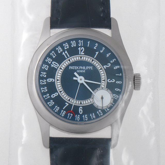 パテックフィリップ カラトラバ Cal.240PS 6000G-012 メンズ(044MPPAN0001)【新品】【腕時計】【送料無料】