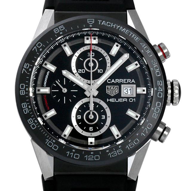 【48回払いまで無金利】タグホイヤー カレラ ホイヤー01 クロノグラフ CAR201Z.FT6046 メンズ(0014THAN0001)【新品】【腕時計】【送料無料】