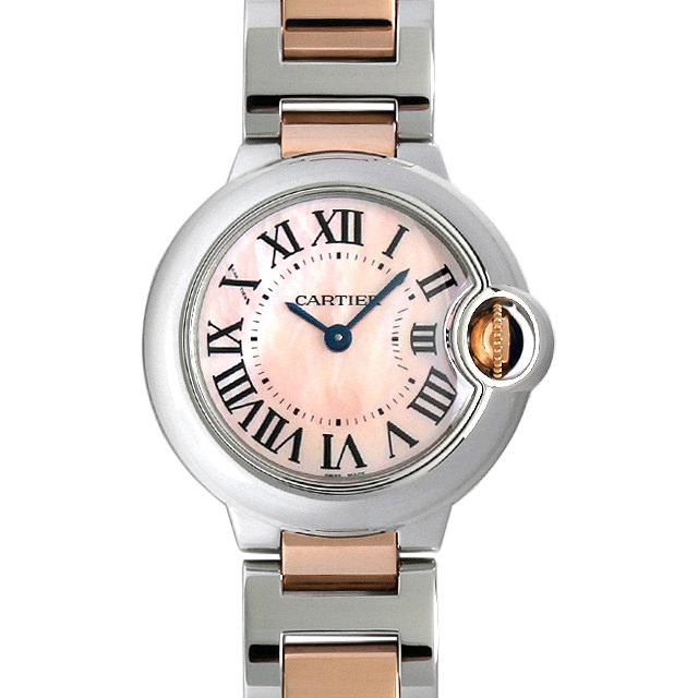 カルティエ バロンブルー W2BB0009 レディース(001HCAAU0056)【中古】【腕時計】【送料無料】