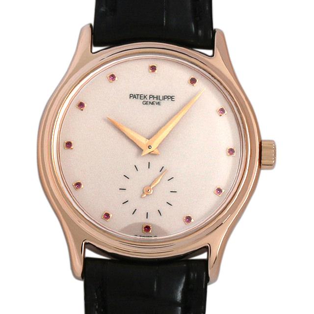 【48回払いまで無金利】パテックフィリップ カラトラバ 台湾代理店25周年記念モデル 3923SR メンズ(0050PPAU0005)【中古】【腕時計】【送料無料】