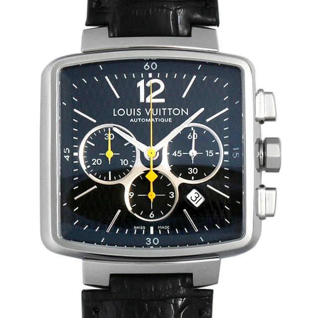 SALE ルイヴィトン スピーディ クロノグラフ Q212G メンズ(006XLVAU0008)【中古】【腕時計】【送料無料】