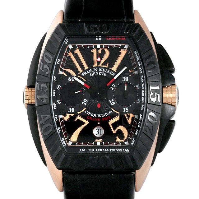 【48回払いまで無金利】フランクミュラー コンキスタドール グランプリ クロノグラフ 8900CC GP メンズ(007UFRAU0077)【中古】【腕時計】【送料無料】