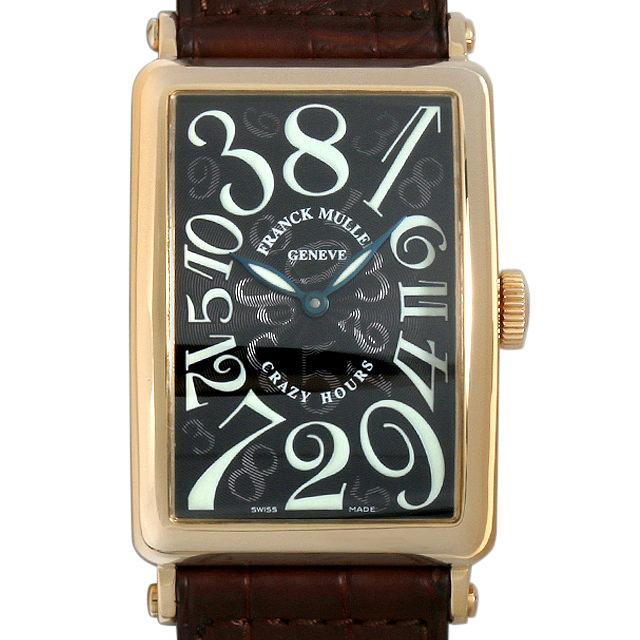 フランクミュラー ロングアイランド クレイジーアワーズ 1200CH 3N メンズ(007UFRAU0079)【中古】【腕時計】【送料無料】
