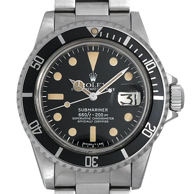 【48回払いまで無金利】ロレックス サブマリーナ デイト cal.1570 57番 1680 メンズ(007UROAA0040)【アンティーク】【腕時計】【送料無料】