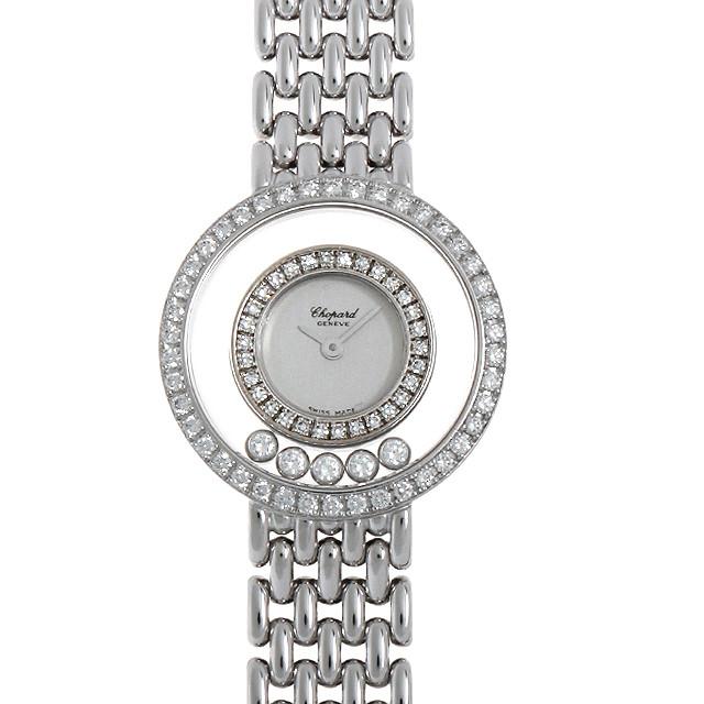 【48回払いまで無金利】ショパール ハッピーダイヤモンド 20/5691 レディース(008KCPAU0012)【中古】【腕時計】【送料無料】