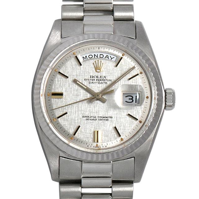 ロレックス デイデイト 21番 1803/9 シルバー/バー メンズ(009MROAA0020)【アンティーク】【腕時計】【送料無料】