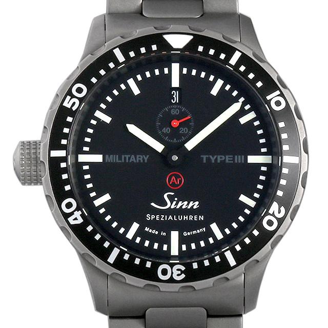 ジン ミリタリー タイプ3 Sinn メンズ(09UTSIAU0001)【中古】【腕時計】【送料無料】