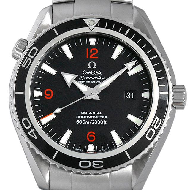 オメガ シーマスター プラネットオーシャン 2200-51 メンズ(0AS3OMAU0001)【中古】【腕時計】【送料無料】